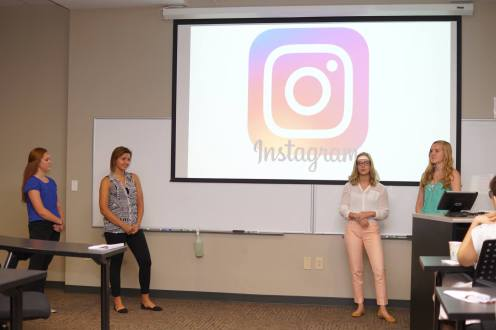 "The ""Selfie"" Effect: The Influence of Social Media Feedback on Stress, Physiology, Mood, and Memory; Alexandra Brown, Ann Froeschle, Bayley Keys, Abigail Landrum , with Dr. Shyam Seetharaman, Dr. Jennifer Whitmer"